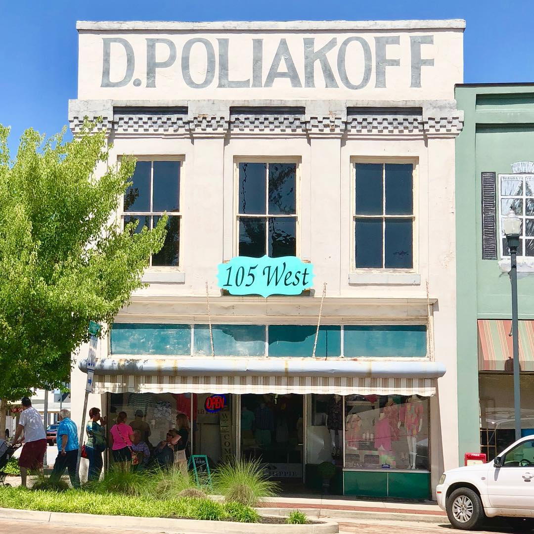 David Poliakoff founded D. Poliakoff dry goods store on Abbeville's court square in 1900. Poliakoff was one of a very few Jewish Families in the area and the family operated the store until 2000
