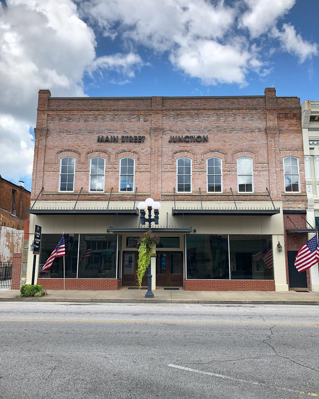 Constructed in 1890, this building was restored in 2016 as Main Street Junction. This restored building is now a meeting and wedding venue in the historic downtown Union