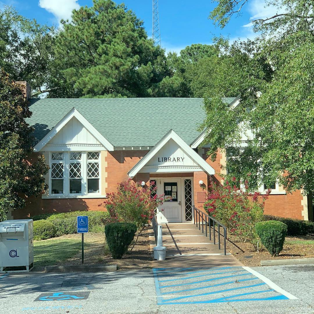 In 1907, local teacher Jennie Erwin became an active advocate for the construction of a library in town and pushed for a Carnegie grant to realize her vision. Honea Path was the smallest town in SC to receive a Carnegie grant. This location opened in 1908 and was renamed to recognize Jennie Erwin for her work in 1958