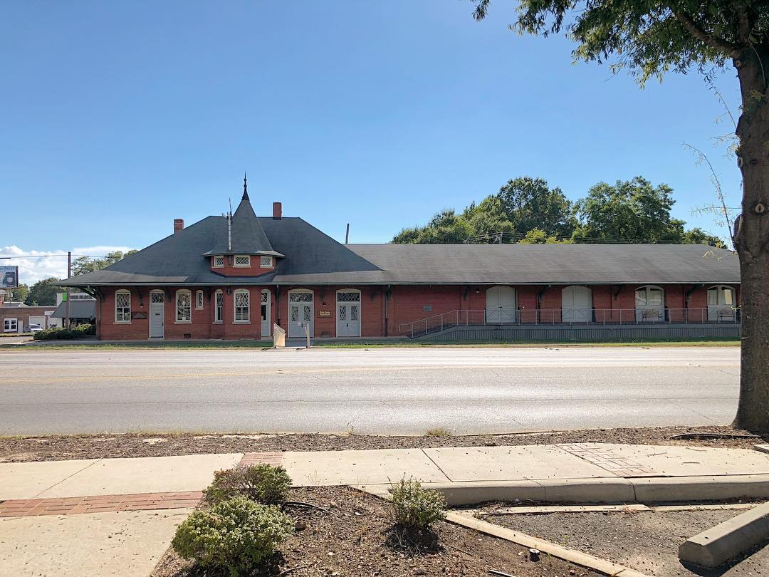 The Belton Depot was constructed by the Southern Railway company around 1910 and used until the 1960's. It was then used as a library before it was restored in 2006 to become the Ruth Drake Museum and the South Carolina Tennis Hall of Fame Museum