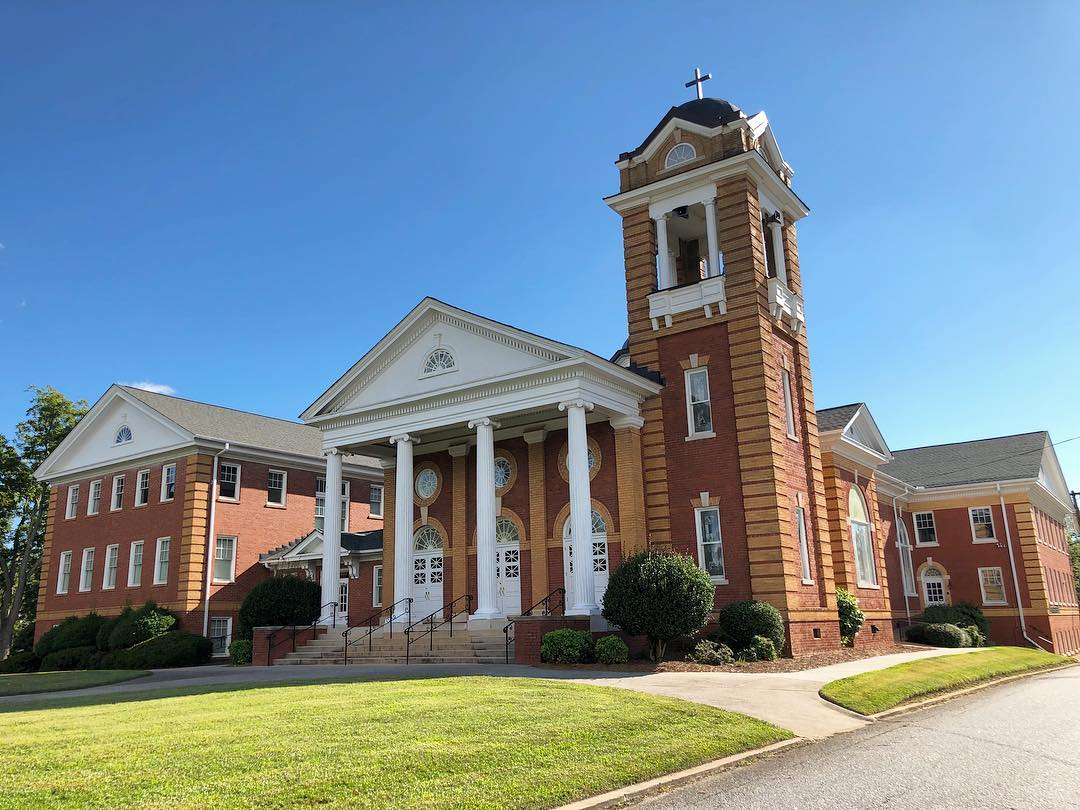 The First Baptist Church of Belton, S.C. Founded in 1861.  The original sanctuary was built here in 1861 and was replaced in 1882
