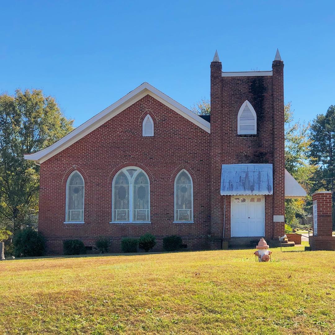 The Fingerville UMC was established in 1839
