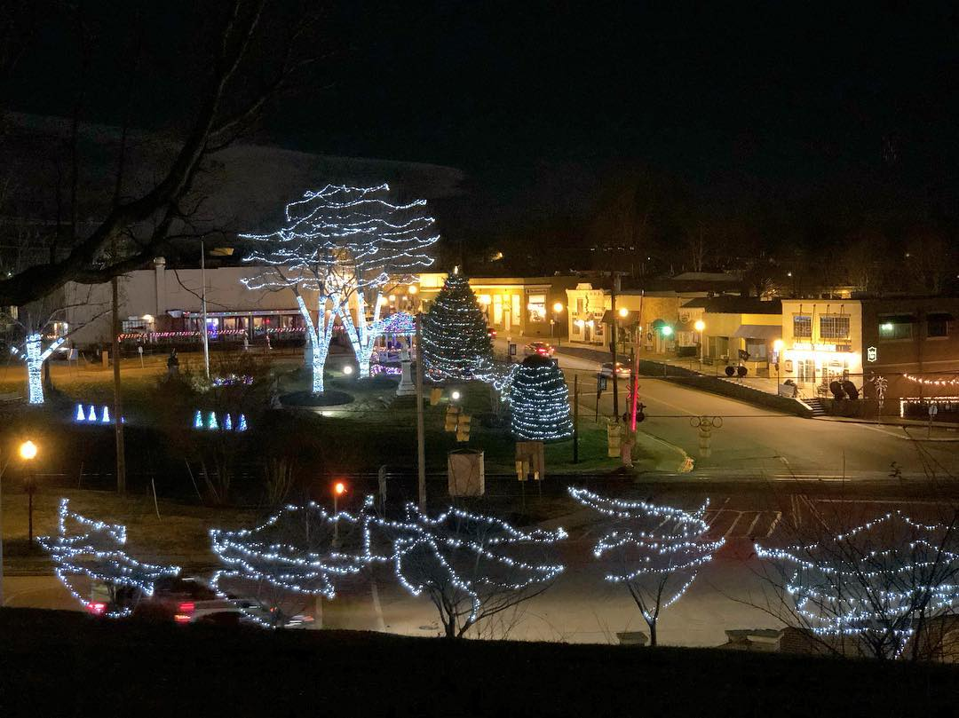 Merry Christmas Eve from Downtown Fort Mill, SC