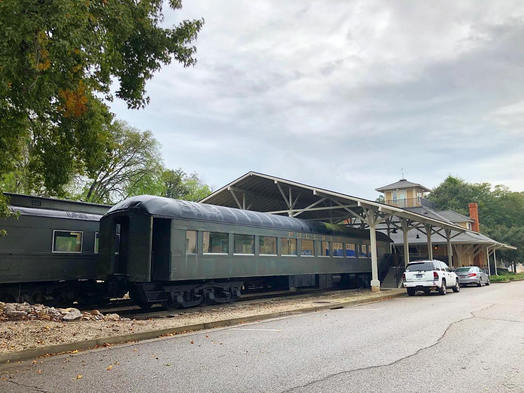 The Aiken Visitors Center and Train Museum is located within the rebuilt Aiken Railroad Depot. The original depot that sat on this site was built in 1899 and served rail travelers until 1954. The museum opened in 2010