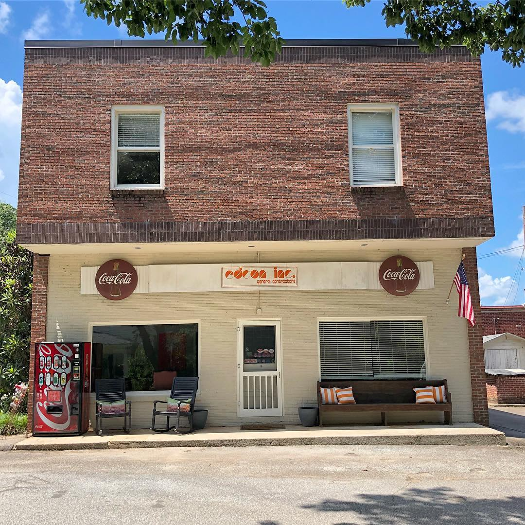 This commercial building is in the small town of Peak. Peak was founded in 1853 as Peak's Station on the Greenville & Columbia Railroad. Peak incorporated in 1880. The town had 3 major fires in the commercial district in 1909, 1953, & 1978