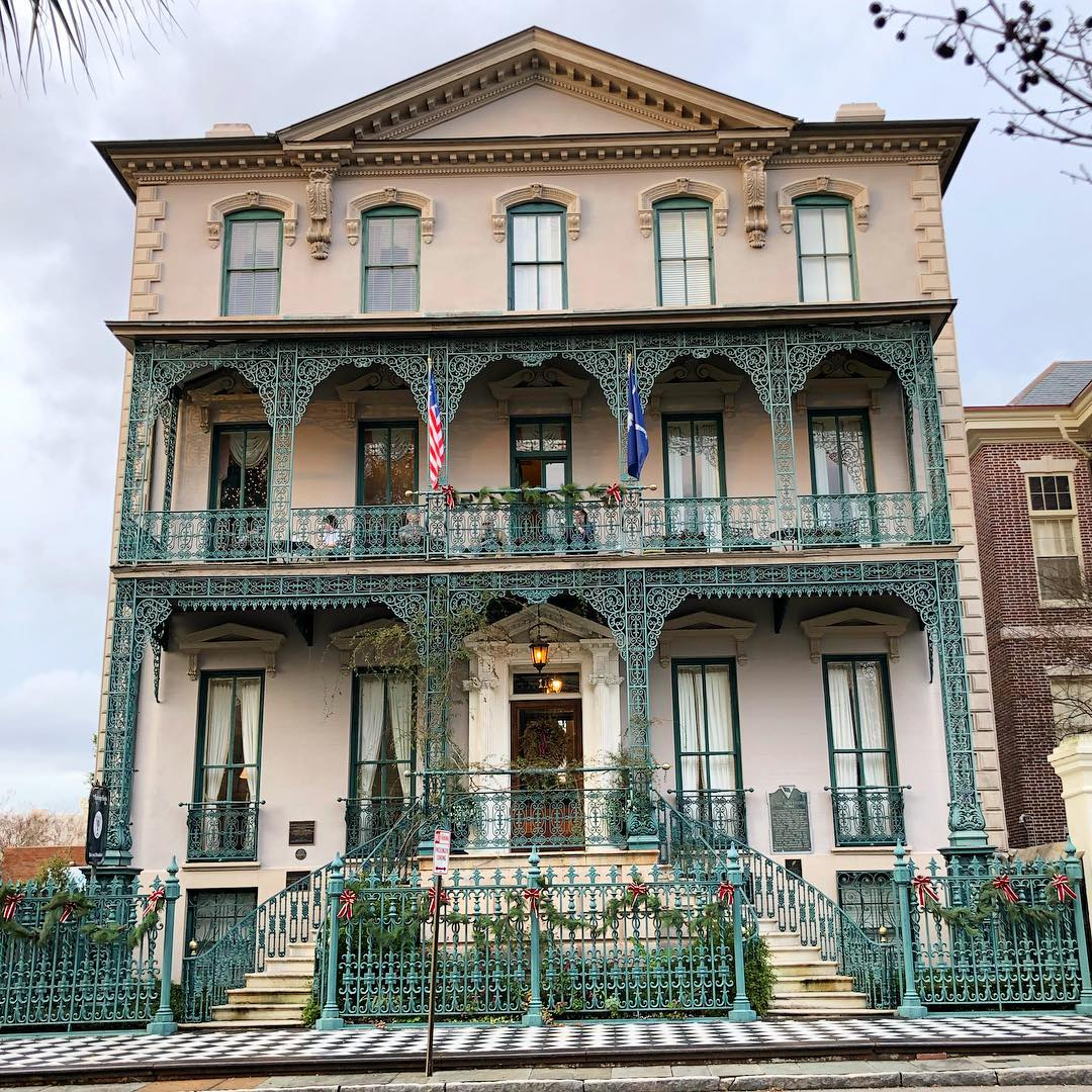 Governor John Rutledge House was built in 1763 as a 2 story home, the 3rd floor was added in 1853. John Rutledge, a signer of the Constitution and wartime Governor of South Carolina, 1779-1782