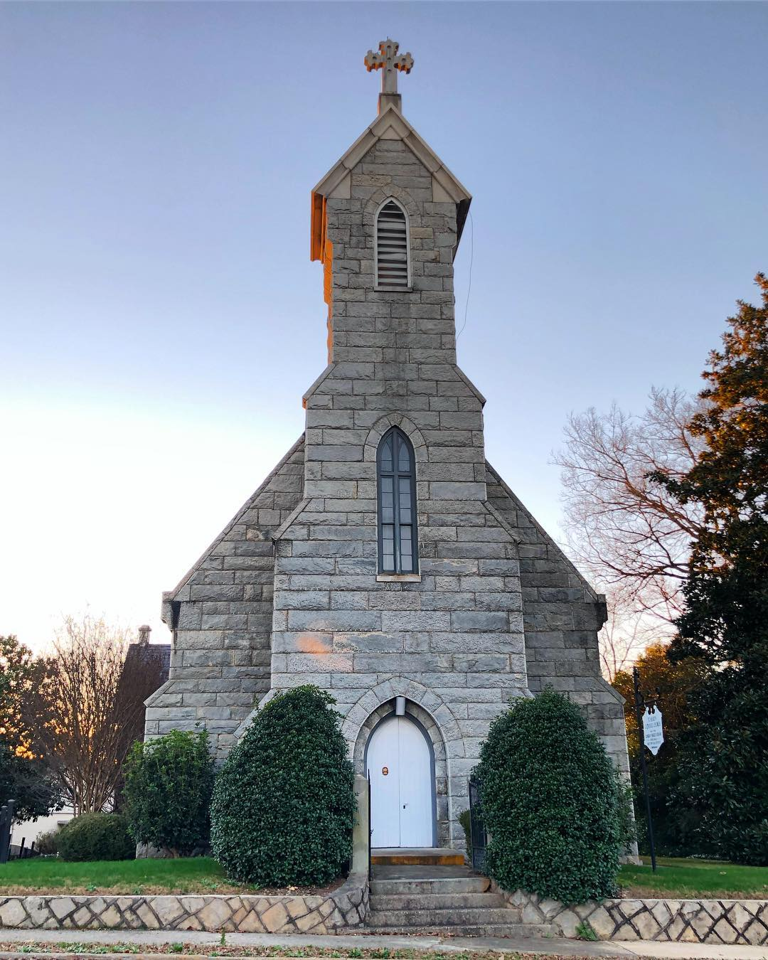 St. Mary's Catholic Church was Constructed in 1858
