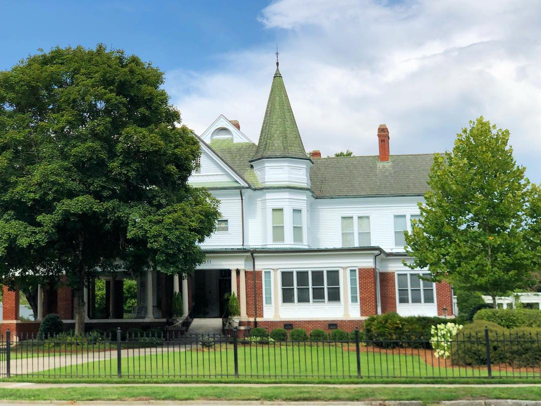 The Vance House was built in 1890 by W. J. Bailey, son of the founder of M.S. Bailey & Son Bank