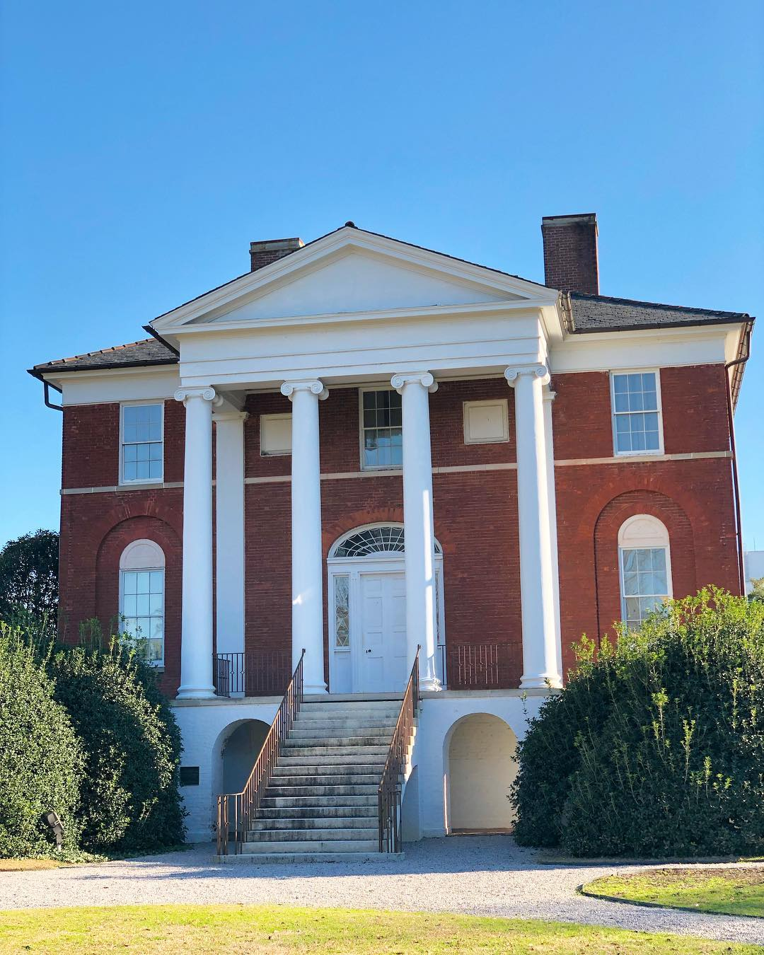 Built in 1823, it was originally known as the Ainsley Hall House. The property was used as a campus for three different religious schools and was the original home for Winthrop University in 1886