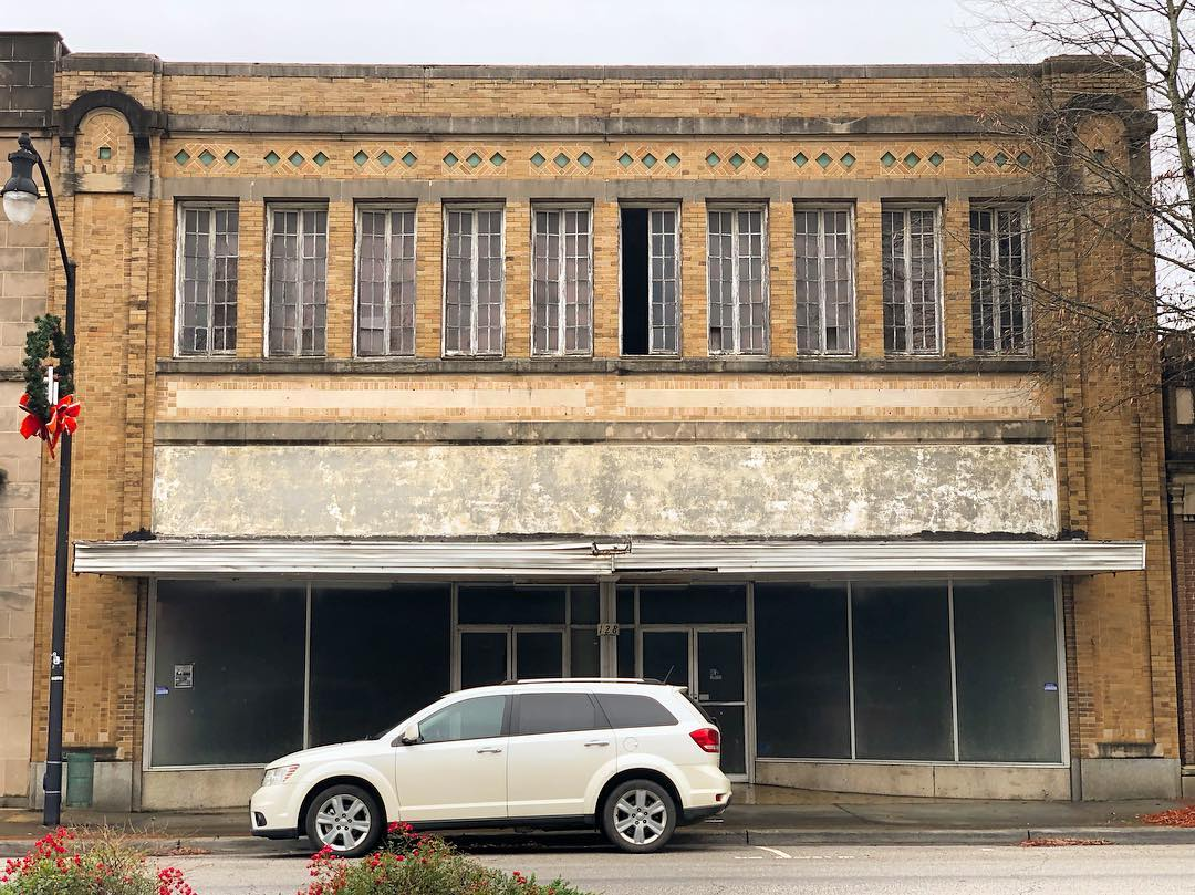Built in 1920, this building served as a B.C. Moore & Sons for many years