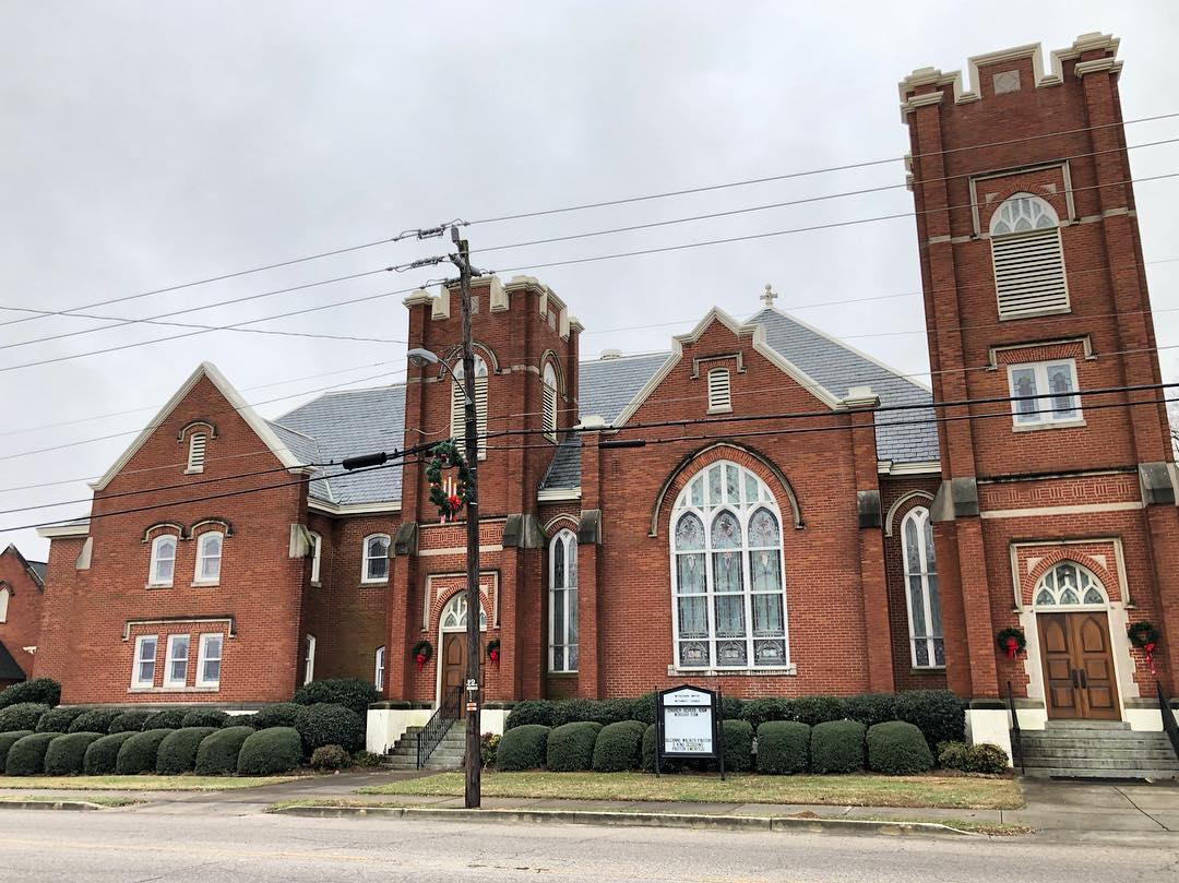 Bethlehem UMC in Bishopville was built in 1914 as the Bishopville Methodist Episcopal Church