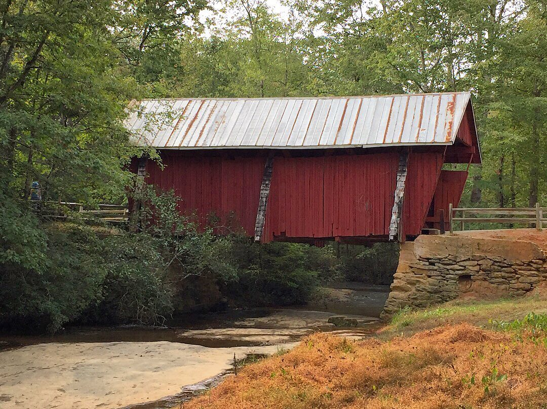 The Campbell's bridge, built in 1909, is 38 feet long and 12 feet wide. It spans over the Beaverdam Creek. It closed to vehicles in the 1980's