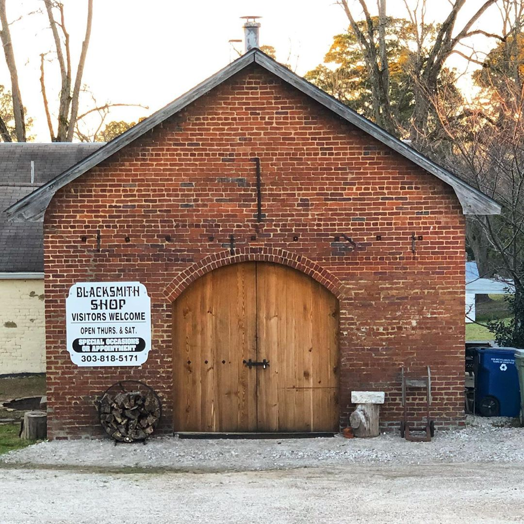 The old Blacksmith Shop in Edgefield was built in 1917. The shop features live blacksmith demonstrations on Thursday and Saturday, 9a-3p weekly