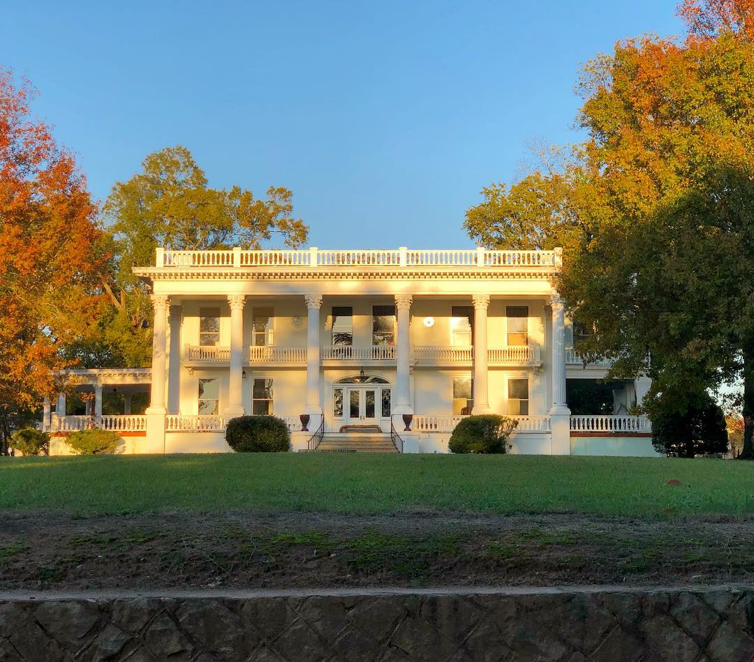 Zaccheus Wright House. This Neo-Classical home was built in 1912 by Zaccheus Wright, a cotton mill executive