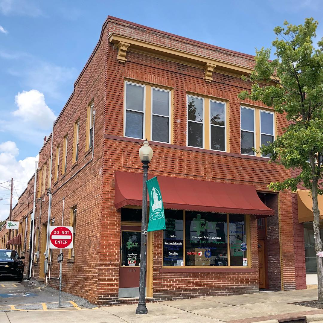 This brick commercial building was built in 1910. A law firm was on the second floor for many years. It is located on Limestone Street and is part of the Gaffney Commercial Historic District