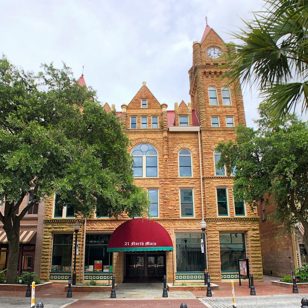 This opera house in Sumter, which doubles as city hall, was built between 1893 and 1895. It is the second opera house to stand on this site, the first was lost to fire in 1892