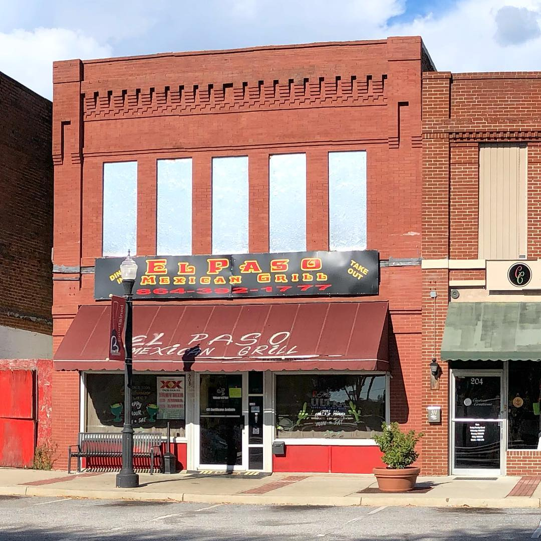 This restaurant in Belton was Frierson's Drug Store from 1909-1949. It was then sold and operated as Mac's Drug Store