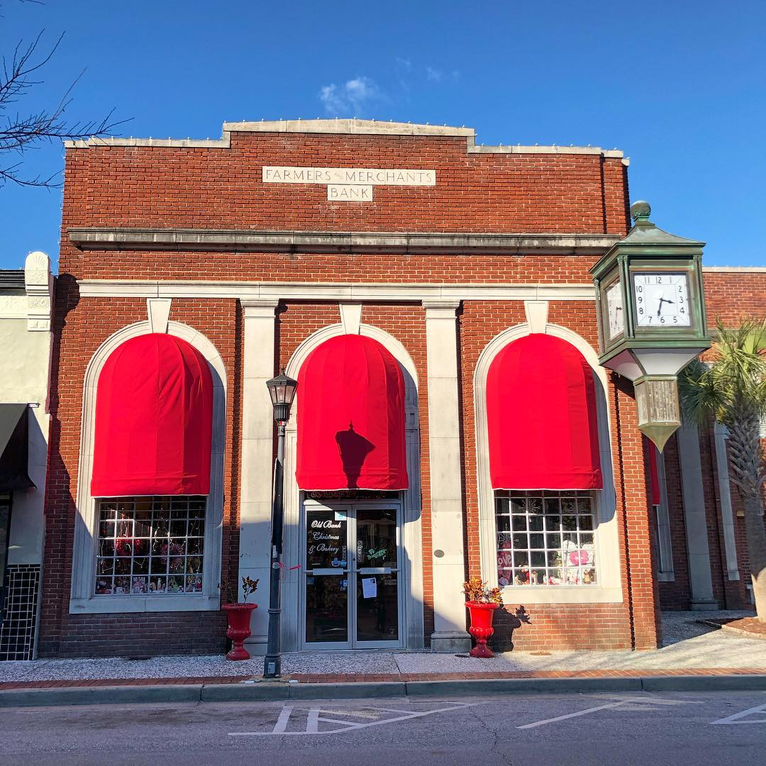 Farmers and Merchants Bank of Walterboro was built in 1902