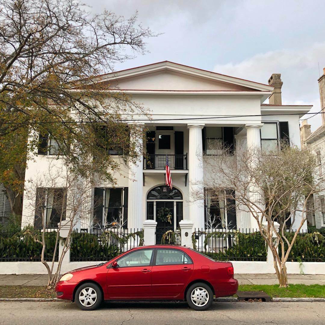 The William Wragg House was constructed for William Wragg in 1855 as a 3 story house. The McLeod family then obtained the house and lowered it to two stories with a Colonial Revival renovation and portico
