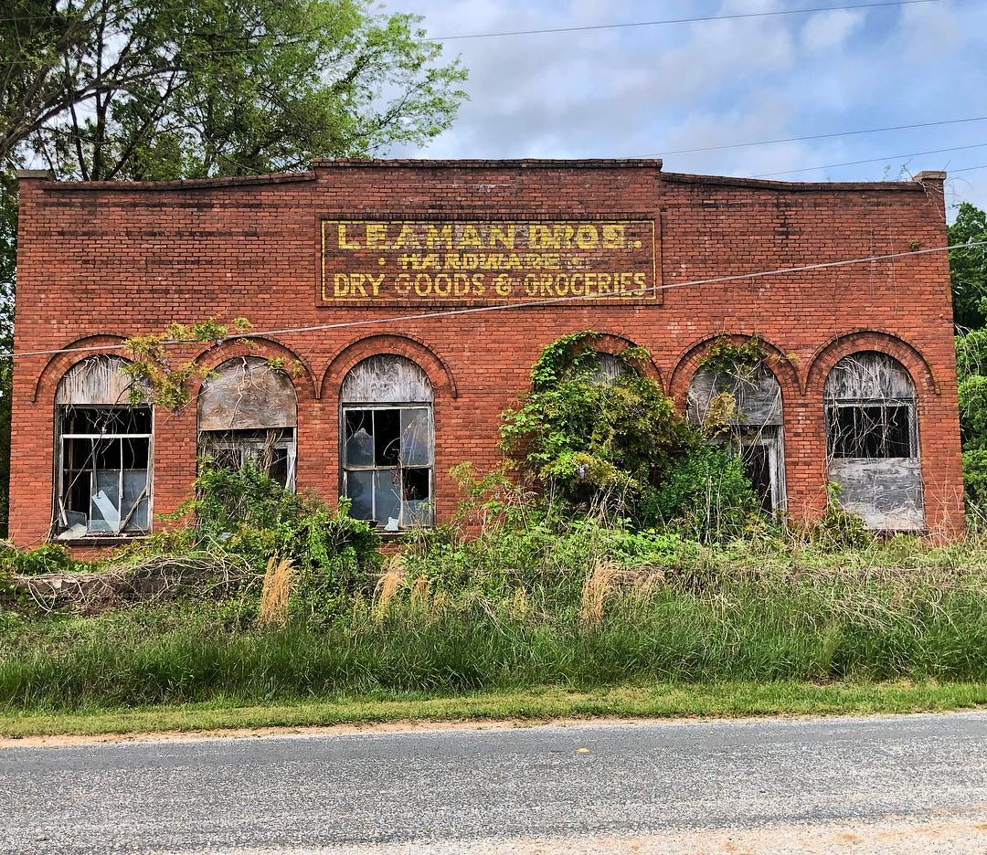 Sam Leaman's, Leaman Brothers Store was constructed about 1928
