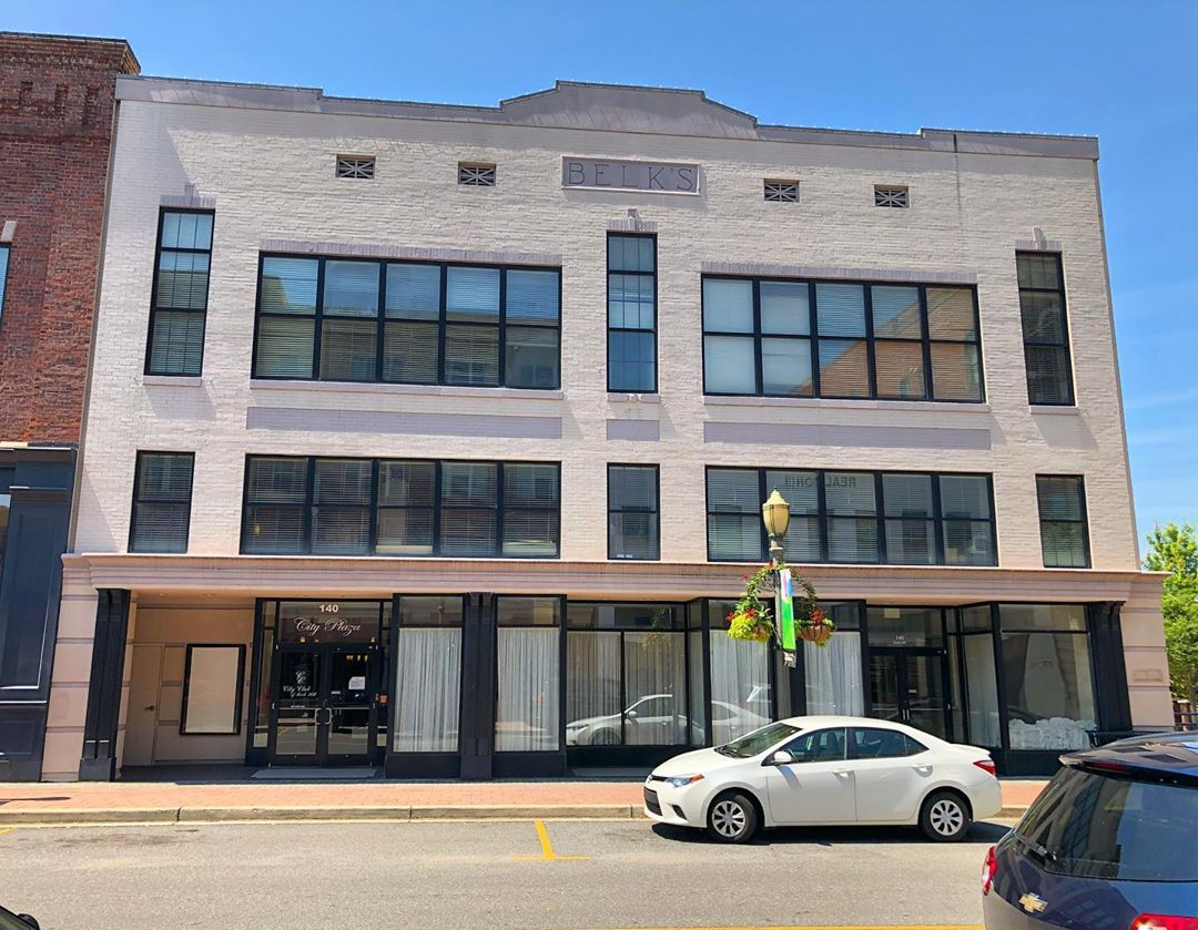 The Belk's building in Rock Hill was built in 1920 and owned by William and John Belk in 1927. In 1990 the building was converted to office space
