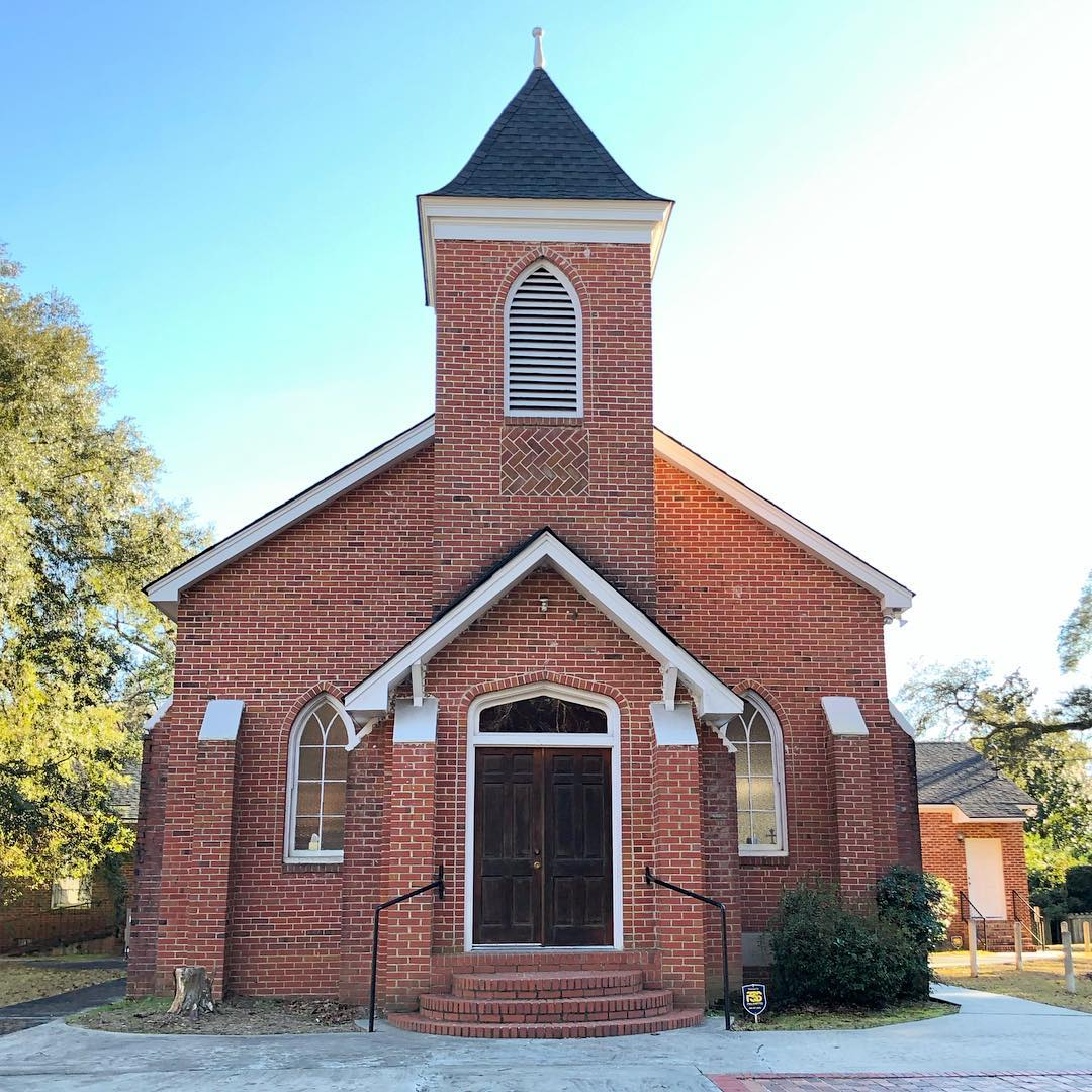 This church on Chaplin Street was built in 1945. It was originally used by the Wesley Methodist Church