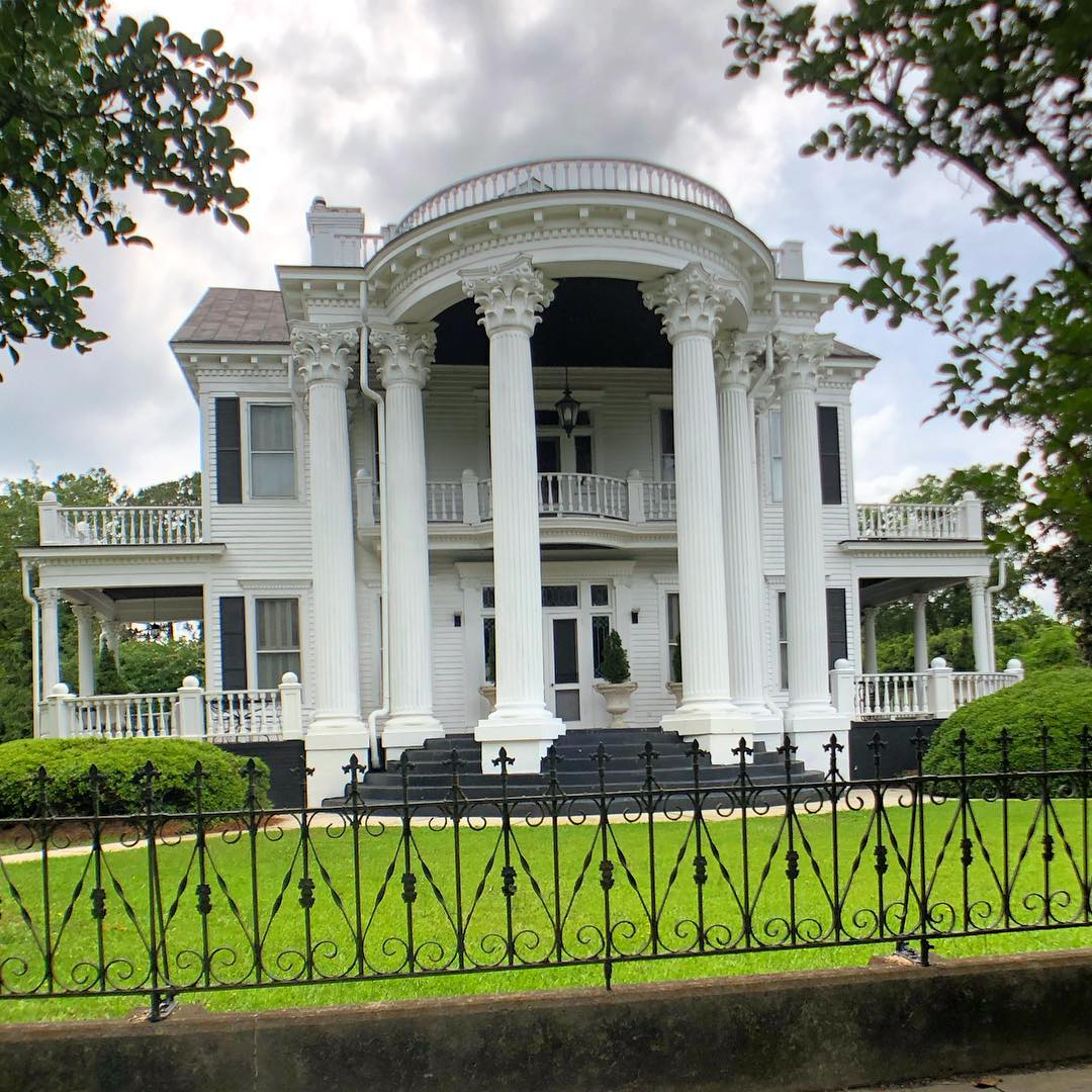 Robert James Mayes House, built ca. 1895. Robert was the grandson of Mayesville's founder. The house is 4,931 sq ft, 5 bedrooms, and 4.5 bathrooms