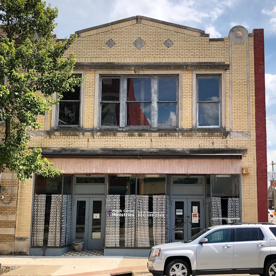 This brick commercial building was built in 1920. It is located on Limestone Street and is part of the Gaffney Commercial Historic District
