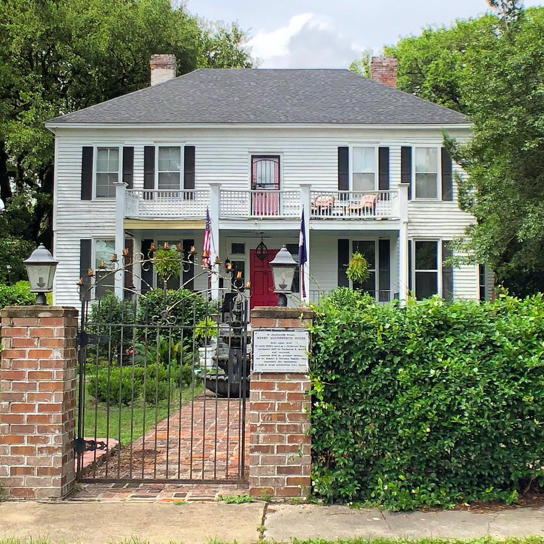This home was built sometime between 1835-45 by Henry Haynsworth, who served as Sumterville's Postmaster from 1833-64. In 1937, Dr. Frederick R. Baker purchased the home and sold it to Dr. Robert Bland Bultman in 1946