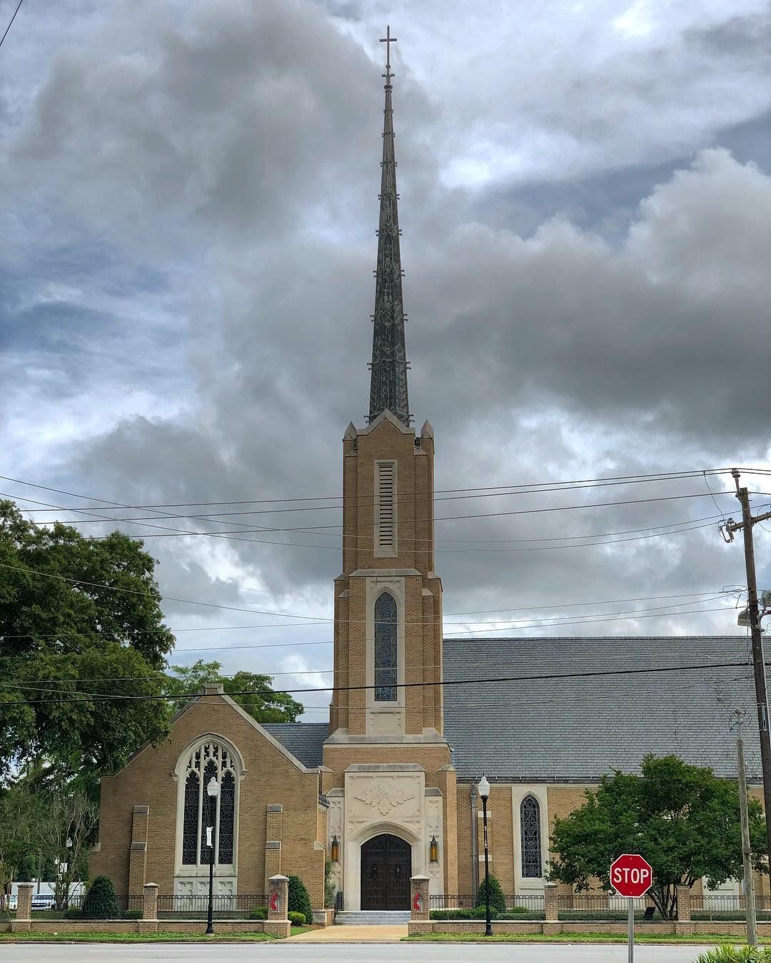 Trinity UMC, in Sumter, was founded in 1827
