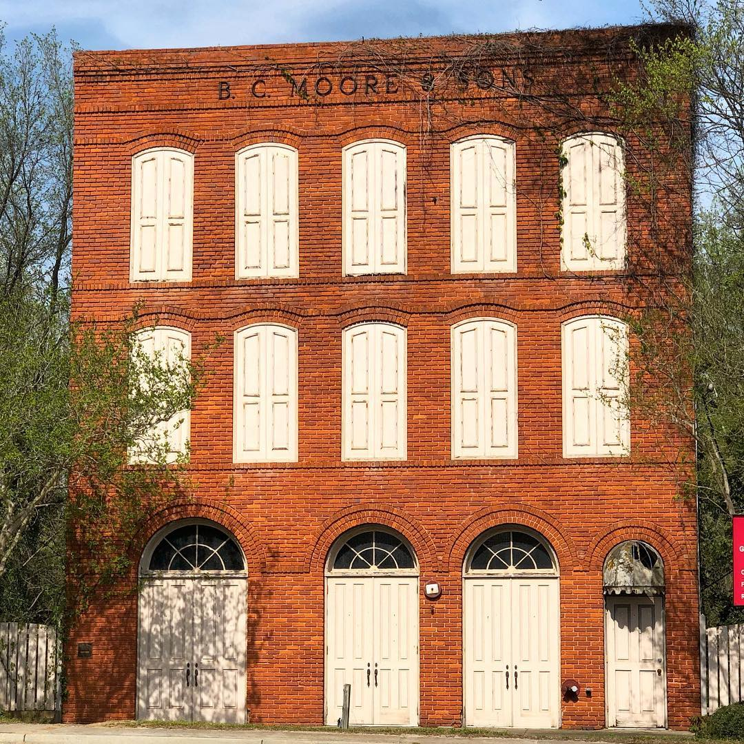 Beauregard Crawford Moore, opened his first retail store in 1923. They expanded to South Carolina by 1933. B.C. Moore's Administrative offices, including buying and advertising departments, were in Cheraw. The company was sold to Stage Stores
