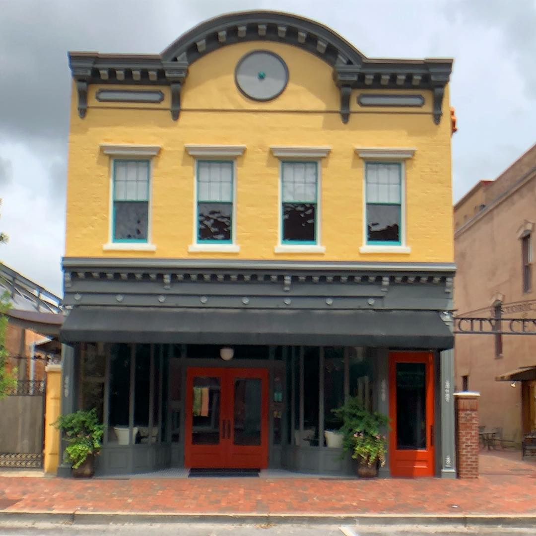 Bultman Brothers' Boots and Shoes was built in 1882. The Bultmans also manufactured shoes here before building a shoe factory. This is the oldest building on Sumter's Main Street