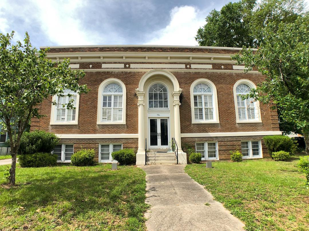 The Carnegie Public Library in Sumter was Sumter's first and only public library from 1917 to 1968