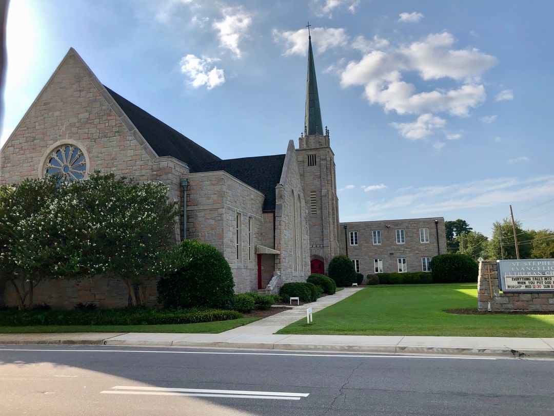 St. Stephen's Lutheran Church in Lexington was established in 1830 and first structure built in 1831. That church was razed during Sherman's 1865 raid and the 2nd burned in 1897. This 4th sanctuary was built in 1957