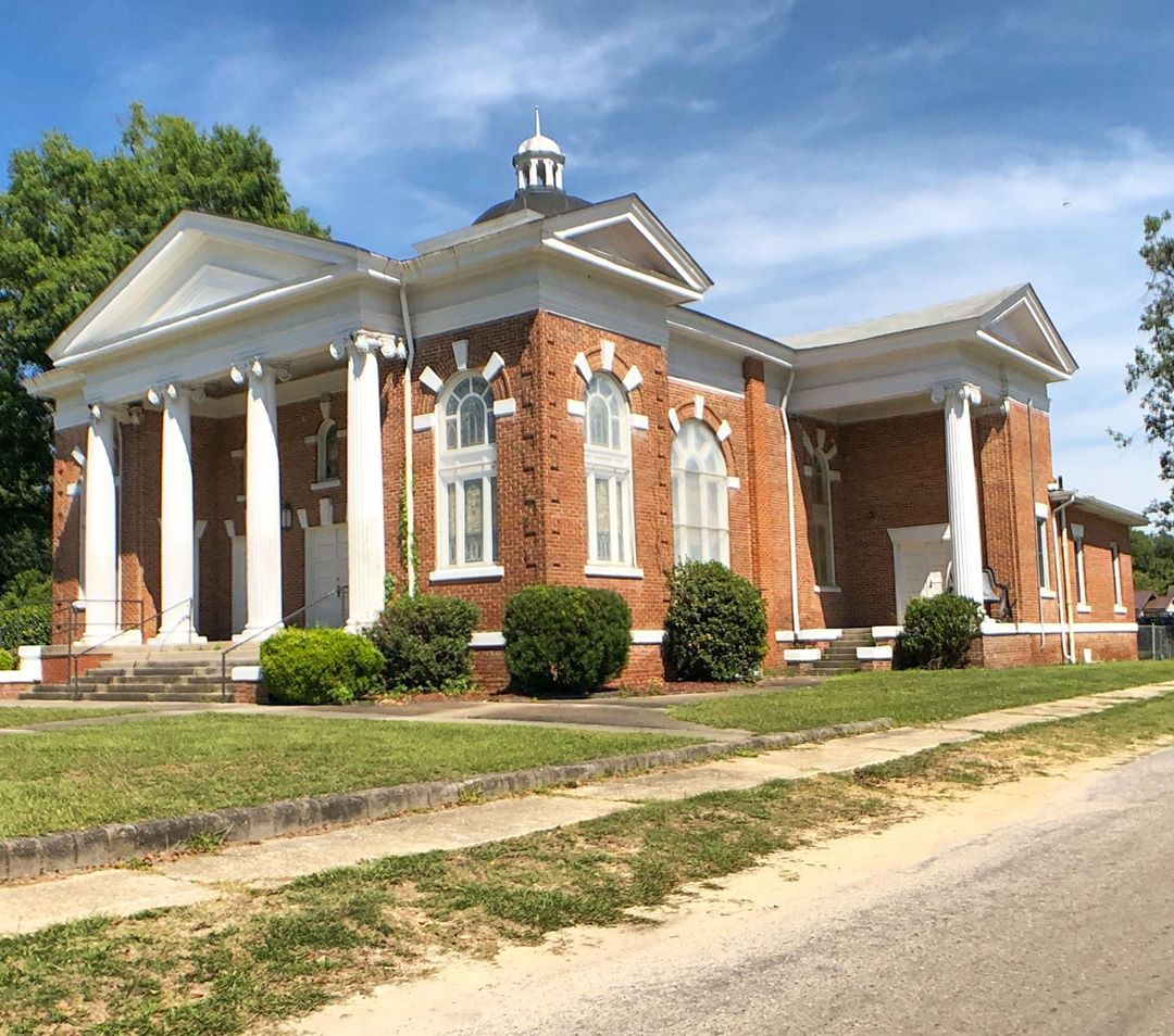 The Clio First Baptist Church was built in 1912