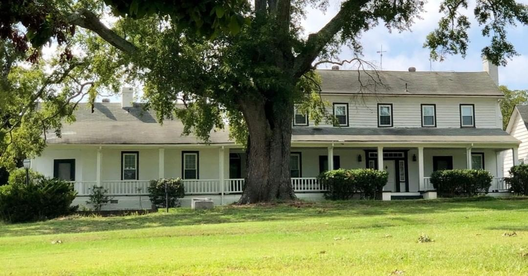 The Jacob Wingard Dreher House is a ca. 1830-50 two-story, farmhouse with a ca. 1910 addition. It was built either by Jacob Wingard Dreher (1831-1905) or his father Daniel (1798-1832