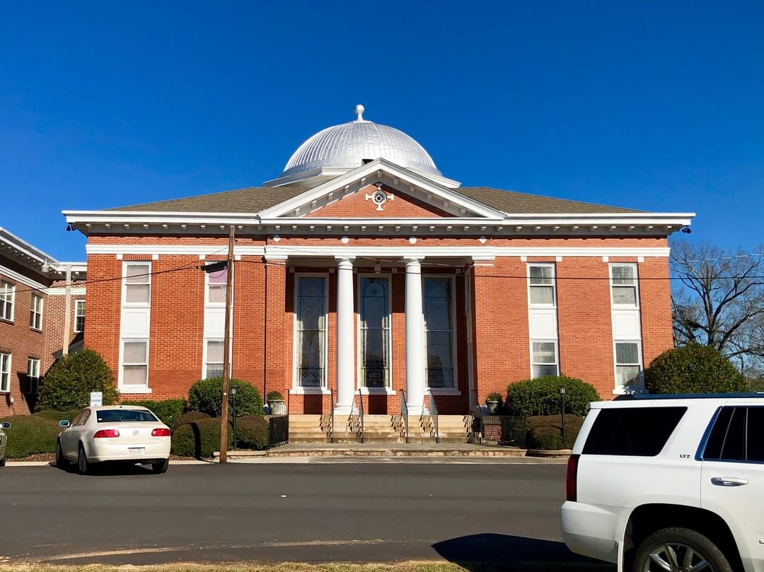 The McCormick First Baptist Church was organized in 1878. The church was originally known as the Dorn's Mine Baptist Church until 1882 when the town was renamed from Dorn's Mine to McCormick, the church followed suit. The current sanctuary was built in 1920