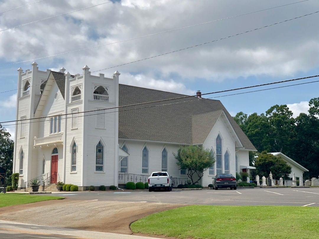 St. Michael's Lutheran Church was established in 1814. This is the third sanctuary and it was built in 1921