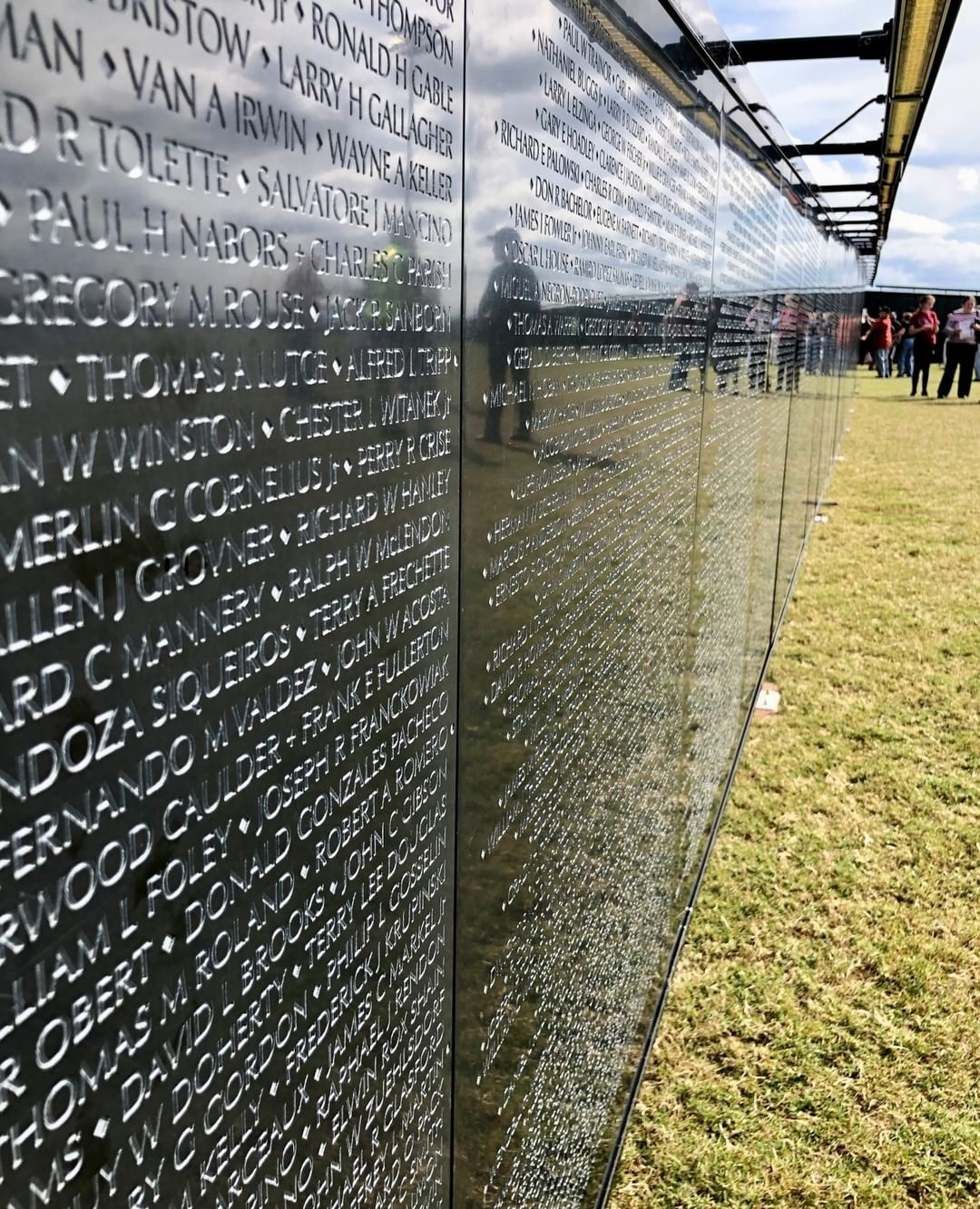 The Wall that Heals, a traveling Vietnam Veterans Memorial wall, is in Rock Hill until Sunday at 2PM. The wall contains the names of the 58,276 members of the military members that died while in Vietnam