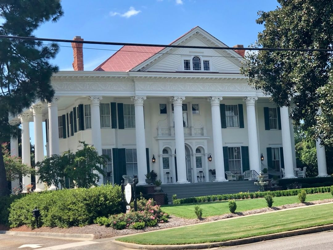 The J.U. Jackson House, better known as Rosemary Hall, was built ca. 1900-1902 by James Urquhart Jackson, founder of North Augusta 