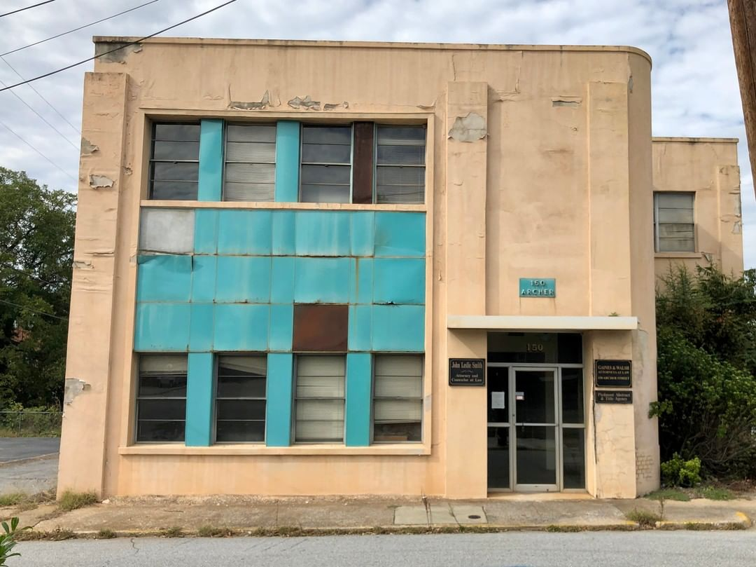 This office building in Spartanburg was built in 1925. It was the office of longtime Spartanburg lawyer Thomas Emmet Walsh