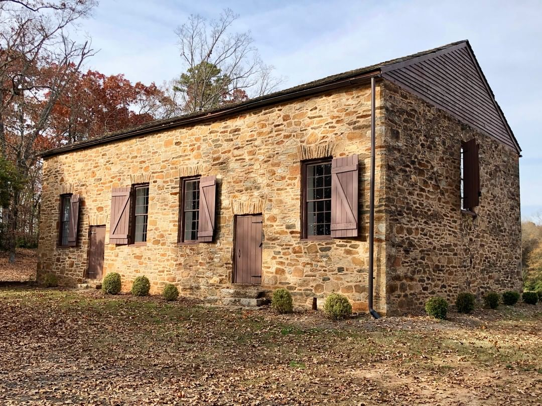The Hopewell-Keowee Church started in 1789 as part of the Presbytery of South Carolina. Construction of the Old Stone Church began in 1797, replacing the congregation's log meeting house that had burned. The congregation moved to Pendleton in the 1820s