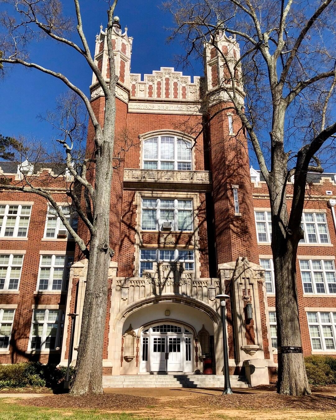 The Withers Building was built in 1891 and remodeled in 1912-1913. The Winthrop Training School (as listed on the building) in Rock Hill, SC, is a public university founded in 1886
