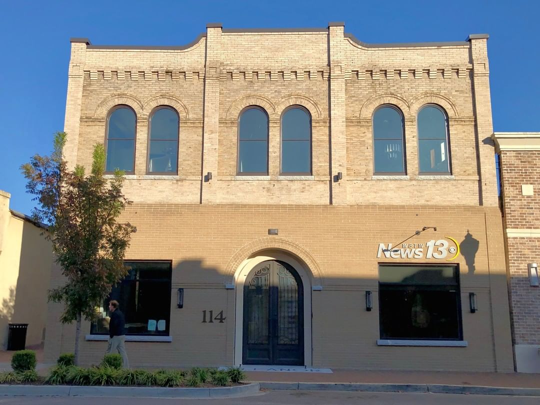 This building on Dargan in Florence was built in 1920. It was recently restored and is now to home of a WBTW TV office