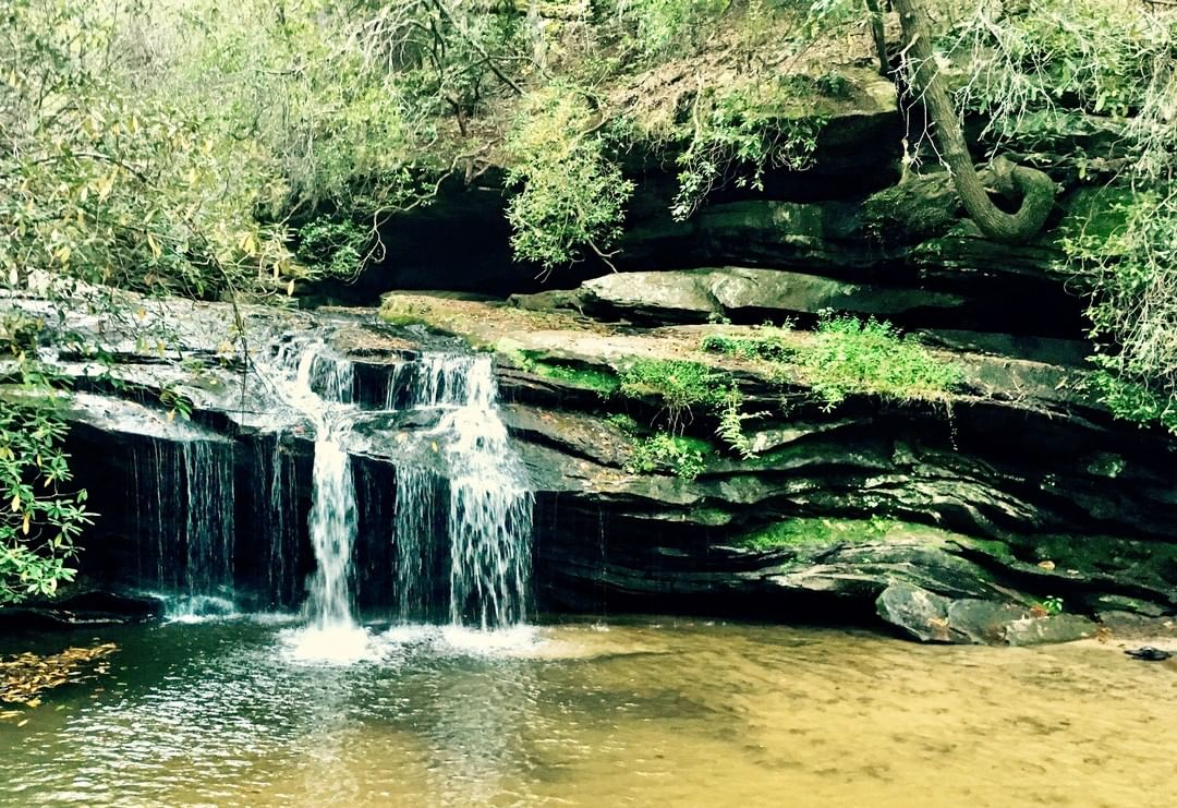 Waterfall at Table Rock State Park