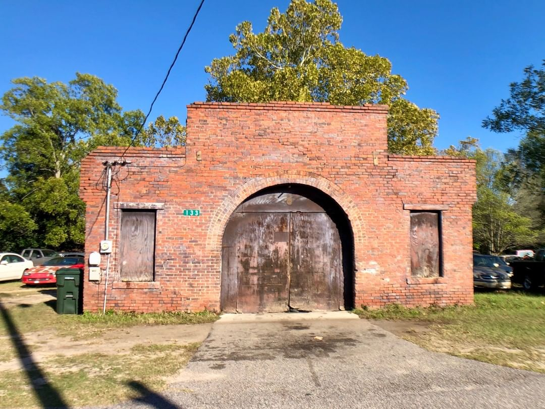 The Coca-Cola Warehouse in Salley was built in 1924. The building originally served as a warehouse for an adjacent Coca-Cola plant that no longer exists