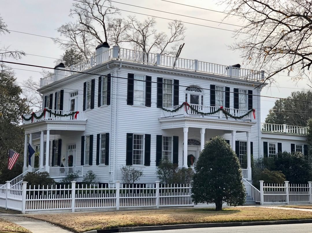 The Lafayette House (McKay House) is an Adam style home built in 1823 by Dr. William Ellerbe. This home was the site of a public reception for the Revolutionary War hero General Marquis de Lafayette on his return visit to the United States in 1825