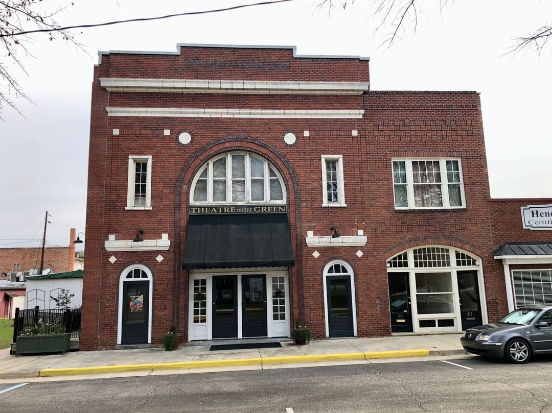 The Lyric Theatre was open in 1920 by Dr. James Ladd, a local pharmacist. The theatre has changed names through the years, Cheraw Theatre, Cheraw Cinema and then it was restored as the Theatre On The Green