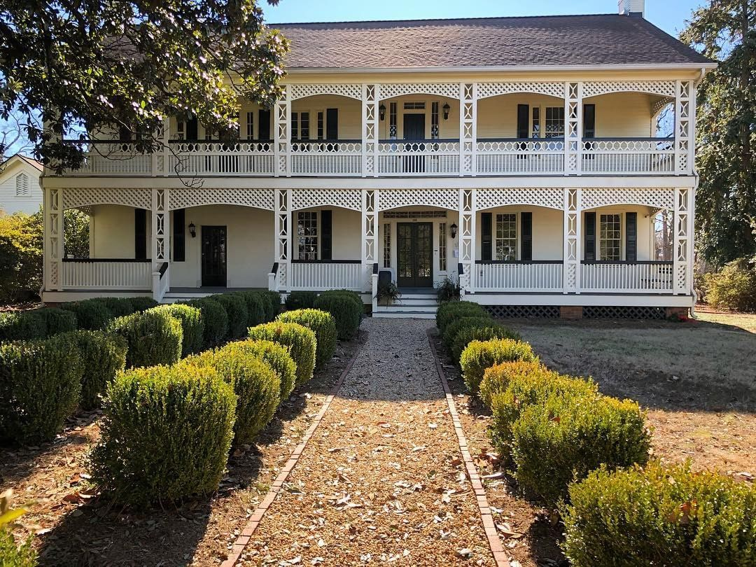 The White Home in Rock Hill was built in 1839 and is one of the original homes in Rock Hill. 5 Generations of the White family lived here until 2005