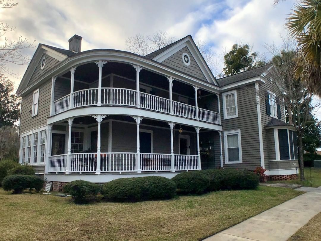 The C. P. Quattlebaum House in Conway was built ca. 1855. It was purchased in 1887 by Cephas Perry Quattlebaum and renovated it at that time. Quattlebaum was a prominent Horry County lawyer and politician for over fifty years and was the town's first mayor